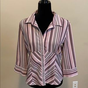 Made in Canada - - perfect flattering blouse